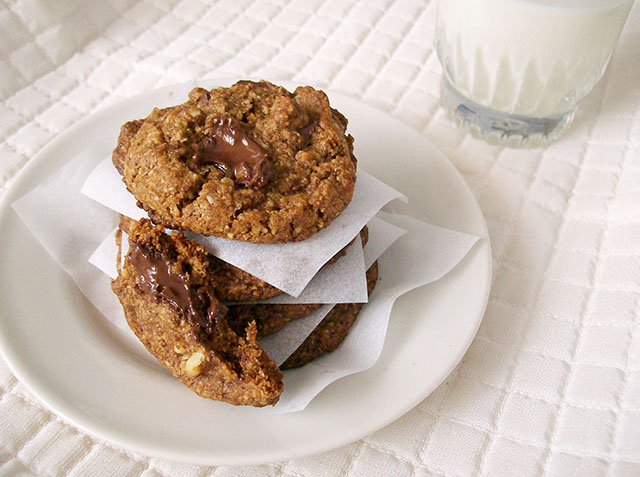Vegan Chocolate Chip Cookies, Gluten-Free