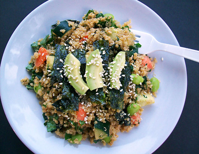 Quinoa Sushi Salad, Vegan