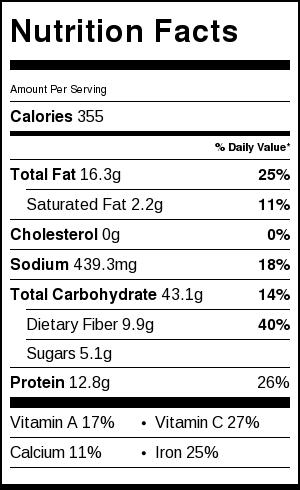 Quinoa Sushi Salad Nutrition Information