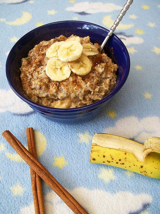 Chia Banana Oatmeal