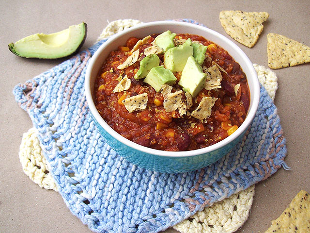 One-Pot Quinoa Chili