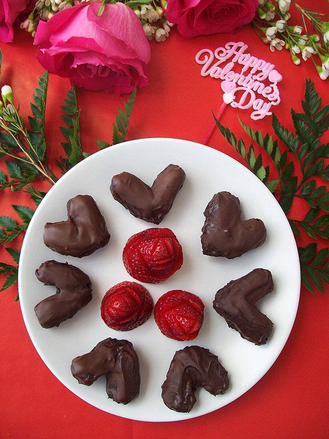 Chocolate Date Hearts