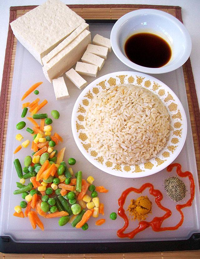 Spicy Vegan Fried Rice