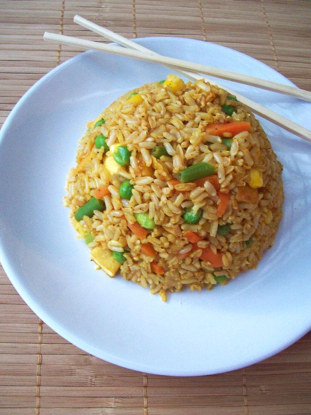 Spicy vegan fried rice vegan petite spicy vegan fried rice ccuart Choice Image