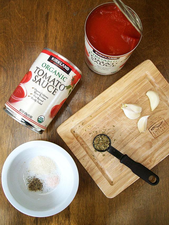 Easy Oil-Free Pasta Sauce