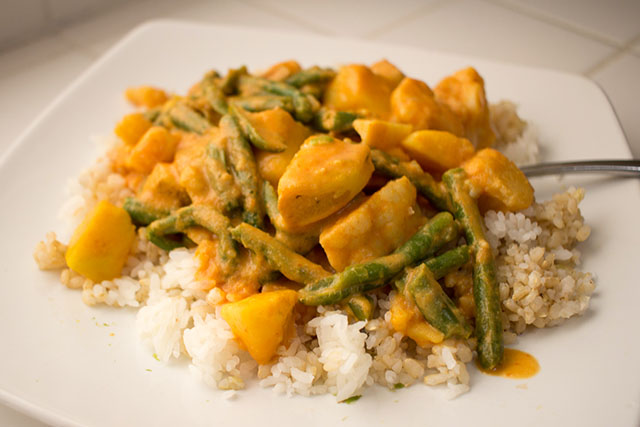 Easy 10-Minute Vegan Curry
