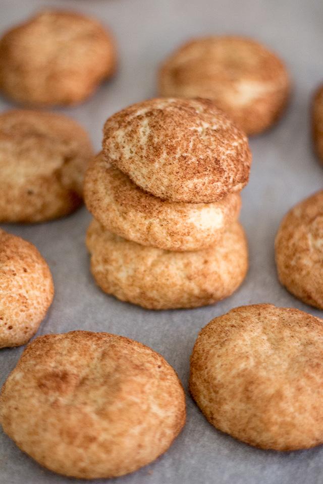 Vegan Snickerdoodles - Easy vegan cookie recipe