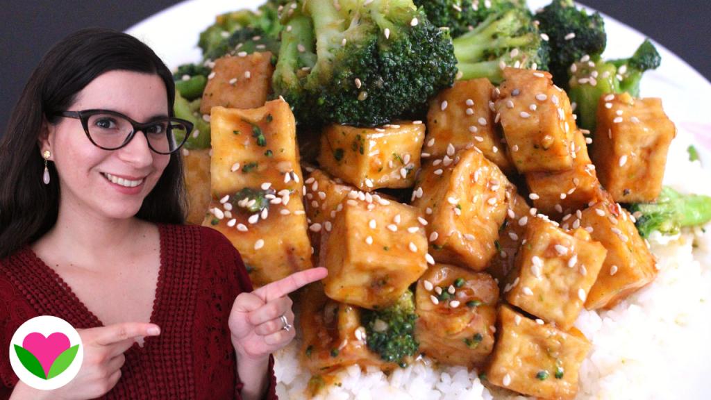 vegan general tso tofu